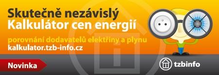 Kalkulátor ceny elektřiny a plynu TZB-info.cz
